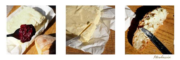 Pane burro e marmellata di more.